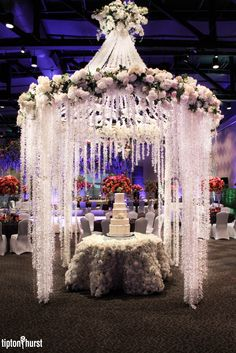 Floral Arrangement | Flowers | Wedding Reception | Tipton & Hurst | Little Rock, AR