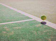 網球場的路上。to the tennis court: 網球與攝影 - David Ryle