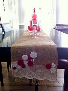 Christmas table runner!