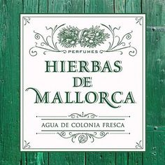 Hierbas de Mallorca Agua de Colonia Fresca is one of our favourites.  A clean, happy citrus floral scent that evokes the sunrises that are characteristic of the Balearic islands. It's made with the essences of rind of Bergamot, Lemon and Orange peels, Salvia, Lavender, Camomile, Coriander, Nard and Jasmine.   Launched on the island in 1999, Hierbas de Mallorca is a slice of sunshine, cheerful and fresh.