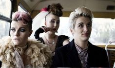 This is England. Chanel Cresswell as Kelly, Rosamund Hanson as Smell and Vicky McClure as LoL.