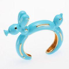 Balloon animal ring.