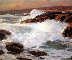 Marinha Edgar Payne (EUA, 1883- 1947) óleo sobre tela