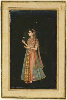 Mughal court lady, early 17th century