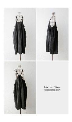 【送料無料】Joie de Vivreフレンチリネンワッシャー キャミソールワンピース Hippy Fashion, Anti Fashion, Beautiful Outfits, Cool Outfits, Fashion Outfits, Womens Fashion, Japanese Fashion Trends, Haute Couture Fashion, Japan Fashion