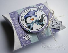 LOTV - Penguin Trio with Snow Princess Paper Pad by Kat Waskett