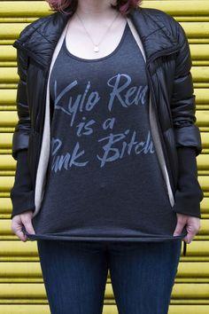 d5952e4ceecd7 Kylo Ren is a Punk Bitch Tee
