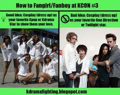 How to Fangirl/Fanboy at KCON #3: Good Idea, Bad Idea #kdramafighting #kdramahumor