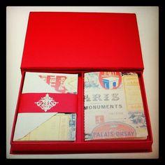 Caixa de correspondência Paris!  Belissima mon amour trés chic!! www.papermint.com.br - @papermintbr- #webstagram