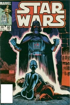 Marvel Comics of the 1980s: 1984 - Anatomy of a Cover - Star Wars #80