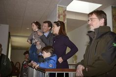 Queens & Princesses - Prince Joachim, Princess Marie, Henrik and Athena visited Aalborg Zoo which celebrated its 80th anniversary.