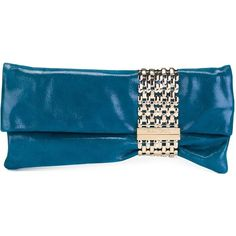 Jimmy Choo Chandra Clutch (16.345 ARS) ❤ liked on Polyvore featuring bags, handbags, clutches, blue, blue purse, jimmy choo clutches, blue clutches, blue suede purse and suede handbags