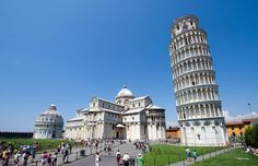 leaning tower of Pisa, near Livorno.