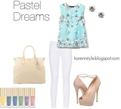 """""""Pastel Couture + Dreams"""" by karenrstyling on Polyvore"""