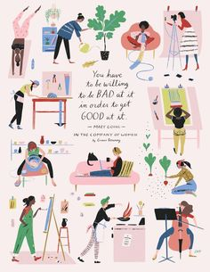 Inspirational And Motivational Quotes :In the Company of Women Book Artwork - Quotes Daily Pretty Words, Beautiful Words, Cool Words, Art And Illustration, Magazine Illustration, Vector Illustrations, Branding, Affirmations, Life Quotes