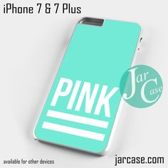 Pink Blue Victoria's Secret Phone case for iPhone 7 and 7 Plus