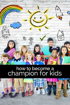 How to Become a Champion for Kids #FillTheCart #Ad