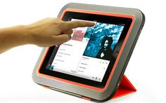 This case will increase the volume output on your iPad by up to 5x.