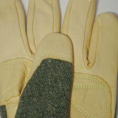 TIG MIG Argon Welding Heat Resistant Goat Leather Lasmid Work Gloves Medium | eBay
