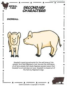 Character analysis of snowball in animal farm by george