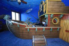 Pirate Ship Bedroom