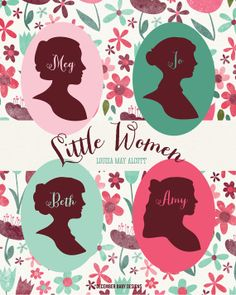 Little Women Print by decemberbabydesigns on Etsy, $15.00