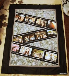Taniwa - good idea to incorporate pictures into a quilt.