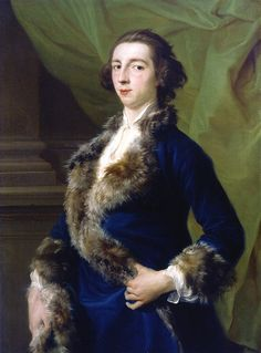 Portrait of Joseph Leeson, 1st Earl of Milltown,  (1701 – 1783) by Pompeo Batoni (1708-1787). Dublin, National Gallery of Ireland.