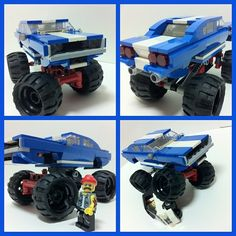 Lego MOC - Dodge Charger R/T 1970 monster truck | Flickr - Photo Sharing!