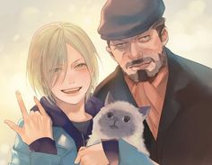 Yurio and his grandfather - Yuri on ICE