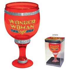This Wonder Woman Bling Goblet is the last cup you'll ever need.
