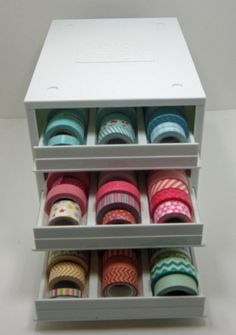 washi tape storage in craft room - Google Search