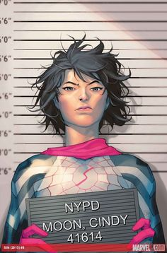 SILK # 8 SILK: criminal ?!  • Cindy Luna aprende su homólogo de la Tierra-65 ha afectado su vida en el Universo Marvel.  • Tanto Mockingbird Y Negro Gato enfrentan Seda - y no es feliz!