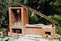 Od projektu, do wędzonek - czyli jak Wojtek Minor budował wędzarnię Smoke House Plans, Smoke House Diy, Backyard Smokers, Fire Pit Backyard, Outdoor Oven, Outdoor Cooking, Barbacoa, Grill Oven, Smokehouse