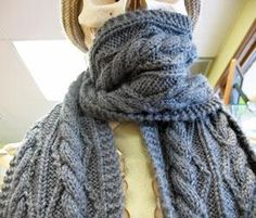 Five Quick and Easy Knitted Scarf Patterns -Momo