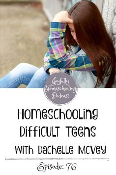 If you are parenting teens, feel like a failure at this whole motherhood thing, or are just nervous about one-day having teens, don't miss this episode! It will help you have more joy in your homeschool. I guarantee it! Parenting Styles, Parenting Teens, Parenting Hacks, Homeschool High School, Homeschool Curriculum, Online Homeschooling, Difficult Children, Feeling Like A Failure, Toddler Schedule