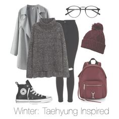 Winter outfit// btsoutfits// Taehyung