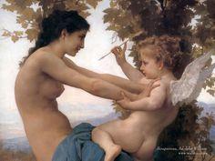 William Bouguereau paint