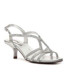 Kind As Ever Glitter Sandal, Silver Metallic, 7, Medium