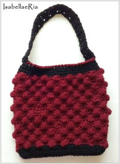"This Versatile Beautiful Crocheted Handmade Handbag will compliment any outfit.    100% HANDMADE.    10"" long (not counting the straps)  16.5"" long (counting the straps)  9""- 10"" wide    I try to represent the true colors, however, colors may vary due to camera and monitor projections.    Bag is ..."