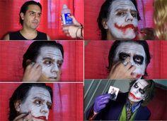 maquillajes de joker paso a paso