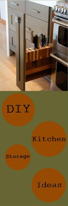 Brilliant Kitchen DIY Storage Ideas:http://vid.staged.com/TnIs