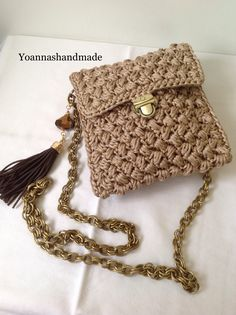 #amazing handmade crochet bag