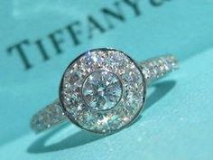 7eabf8f9f401 Tiffany   co. platinum diamond circlet wedding engagement ring pt950 size  5. Boda De EnsueñoAnillos ...