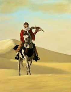 Everywhere he went, people gazed upon the beautiful man atop his horse, wondering about him.