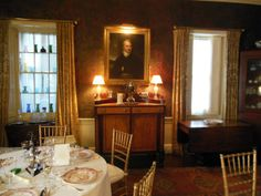 Dining room, Nichols House