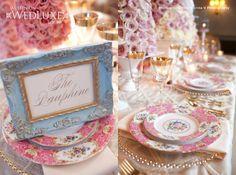 Marie Antoinette Styled Wedding Shoot - WedLuxe Magazine