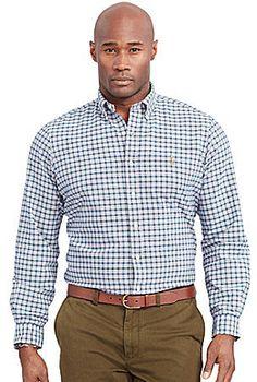 Polo Ralph Lauren Big & Tall Checked Oxford Shirt