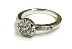 Vintage Inspired Diamond RIng #vintageinspired #engagement #diamond