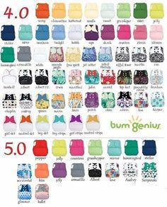 BumGenius pocket prints 4.0 & 5.0